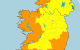 Storm Aiden: Orange warning for 12 counties as 'severe and damaging' gusts of up to 130km/h expected