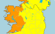 Storm Aiden: Orange warning for 5 counties as 'severe and damaging' gusts of up to 130km/h expected