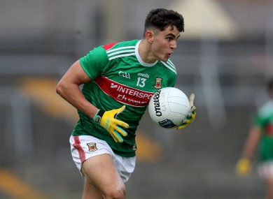 Championship newcomer Tommy Conroy will start for Mayo in this weekend's clash with Leitrim.