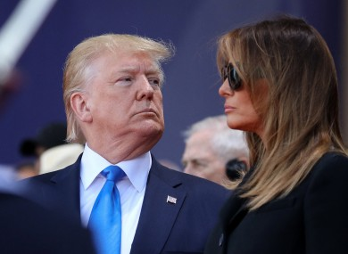 Trump and his wife Melania have both tested positive for Covid-19.