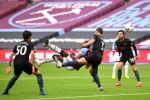 West Ham's Michail Antonio opened the scoring against Man City.