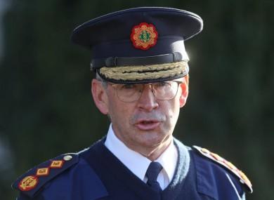 Garda Commissioner Drew Harris (file photo).