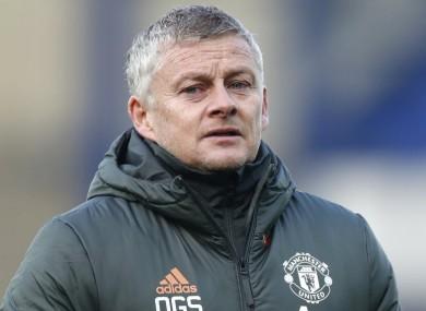 United boss Ole Gunnar Solskjaer.