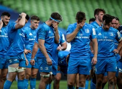 Leinster endured a miserable day against Saracens.
