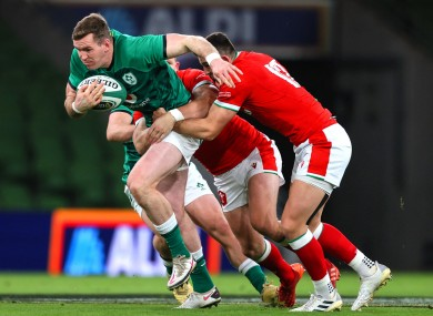 Farrell offered Ireland real punch over the gainline against Wales.