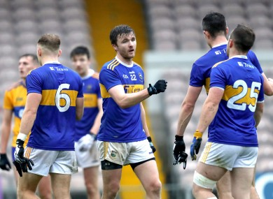 Tipperary's Colman Kennedy celebrates after the win over Clare.