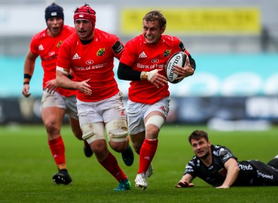 Craig Casey was man of the match for Munster last weekend.