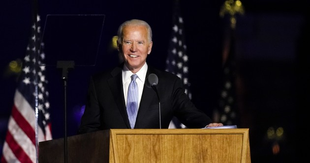As it happened: Joe Biden and Kamala Harris give victory speeches after winning the US election