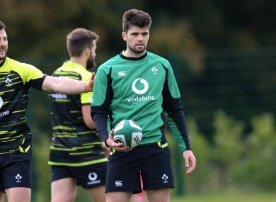 Harry Byrne has been part of two Ireland training camps this year.