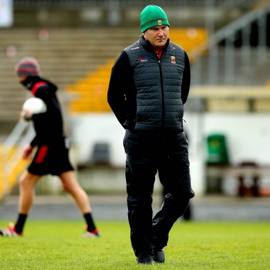 Mayo manager James Horan.