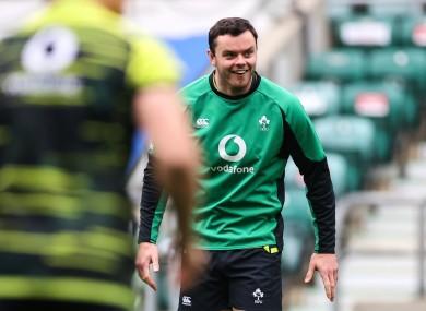 James Ryan captains Ireland at Twickenham.