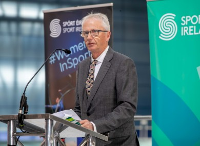 Sport Ireland chief executive John Treacy (file pic).
