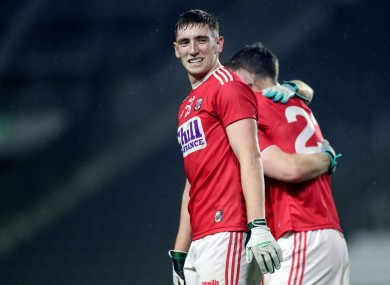 Mark Keane celebrates after the win over Kerry.