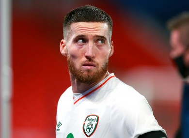 Matt Doherty is among the Ireland players currently missing.