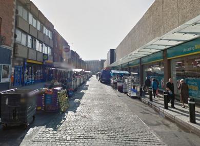 Moore Street (file photo)