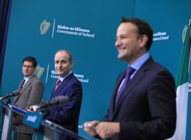 The Taoiseach announced tonight that the country will move to Level 3 with some modifications for December.
