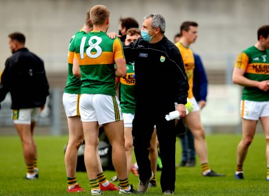Kerry manager Peter Keane after their recent win over Monaghan.