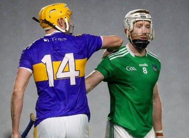 Seamus Callanan and Cian Lynch after the game.