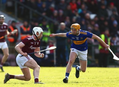 Win or bust: Galway and Tipp meet on Saturday.