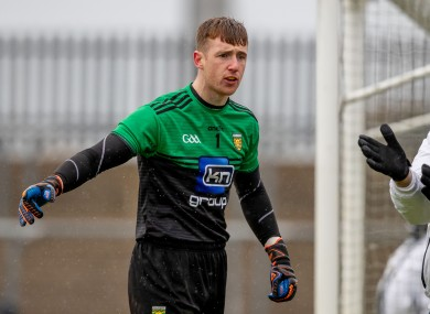 Shaun Patton made his debut for Donegal in 2018.