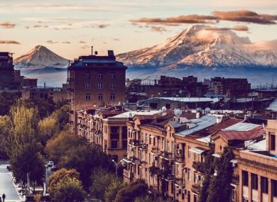 Yerevan City, Armenia.