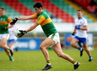 Tony Brosnan in action for Kerry against Monaghan.