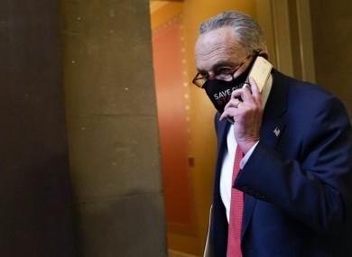Senate minority leader Chuck Schumer