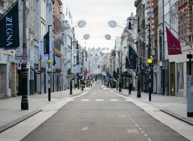 Belfast city centre (file photo)