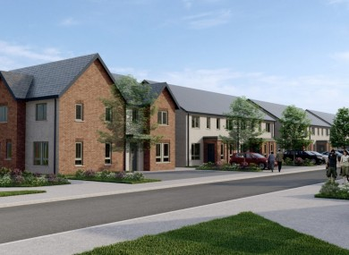 A visual impression of the new homes at Ruxton Oaks