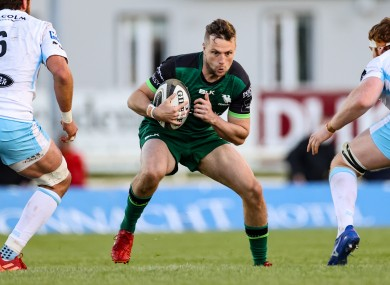 Carty is hoping to push back into the Ireland squad.