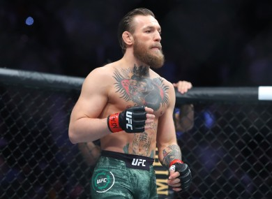 Former two-weight UFC champion Conor McGregor.