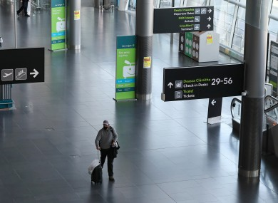 File photo of Dublin Airport.