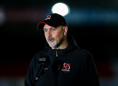 Dan McFarland has led Ulster's improvement since 2018.