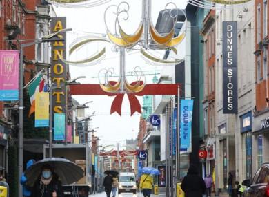 Dublin's Henry Street (file photo)