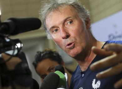 Laurent Blanc (file pic).