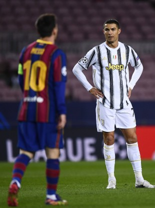 Cristiano Ronaldo and Lionel Messi shared the same pitch tonight.