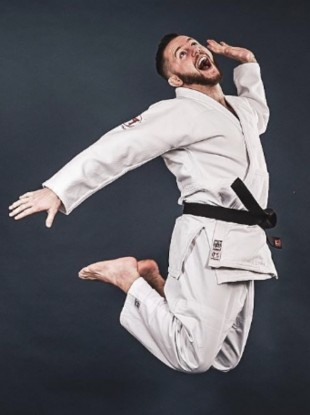 Irish judo's Olympic hope, Ben Fletcher.