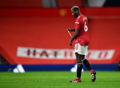 Manchester United's Paul Pogba (file pic).