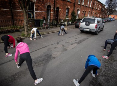 Irish people got plenty of exercise in 2020.