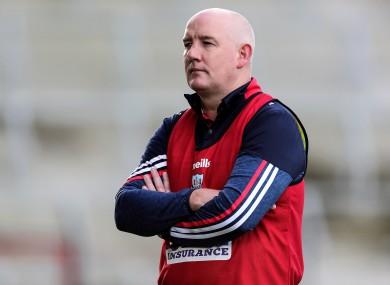 Cork boss Ronan McCarthy.