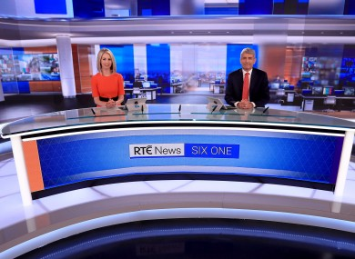 RTÉ's Six One presenters Caitríona Perry and David McCullagh