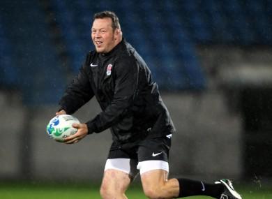 Ex-England player Steve Thompson (file pic).