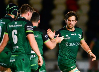Connacht hope to have more cause for celebration this evening.