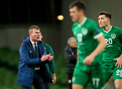 Stephen Kenny's first full campaign will kick off in March.