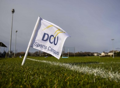 A view of the DCU Sports Complex.