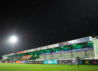 A view of the Sportsground (file pic).