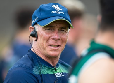 Andy Friend joined Connacht in 2018.