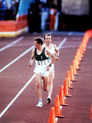 Ireland's John Treacy pictured competing at the 1984 Olympics.
