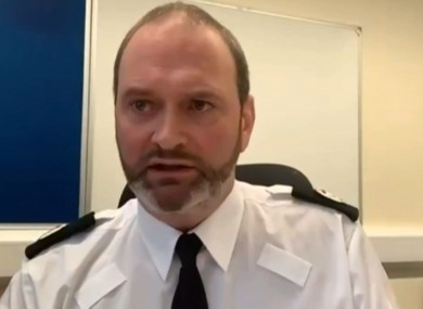 Mark McEwan, PSNI Assistant Chief Constable, giving evidence to the Northern Ireland Affairs Select Committee.