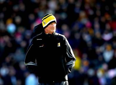 Kilkenny manager Brian Cody.